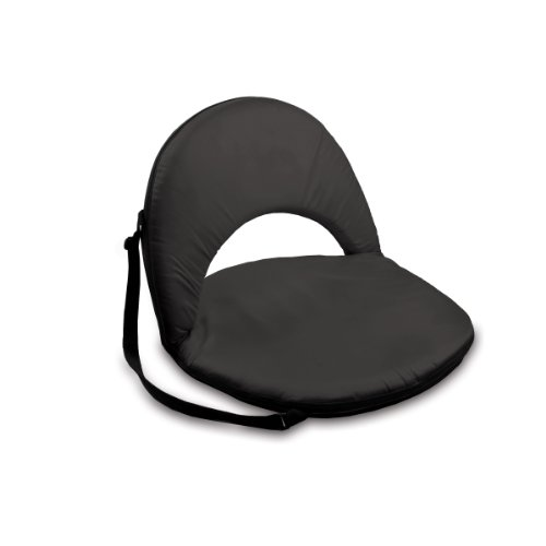 ONIVA - a Picnic Time Brand Oniva Portable Reclining Seat, Black (Floor Position Chair 5)