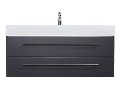 Badmöbel Design 1200 anthrazit seidenglanz