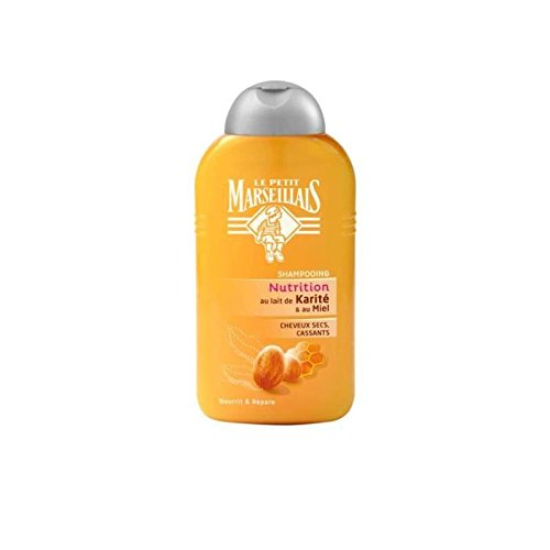 Le Petit Marseillais French Shampoo - Shea Milk and Honey - Damaged, Dry Hair - 8.4 oz
