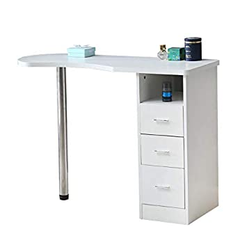 Amazon.com : Nail Table Manicure Workstation Table Station Nail ...
