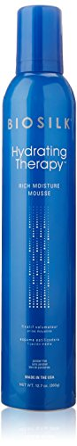 Biosilk Hydrating Therapy Rich Moisture Mousse for Unisex, 12.7 Ounce