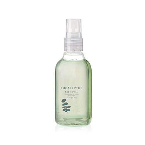 Thymes - Eucalyptus Petite Body Wash with Pump - Travel Size - 2.5 oz (Pleasure Pump)