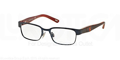 Polo PP8036 Eyeglass Frames 3134-46 - Matte Navy/tortoise Orange at ...