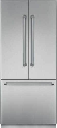 Thermador 19.5 Cu. Ft. Stainless Steel French Door Refrigerator - T36BT820NS (Built In French Door Refrigerator)