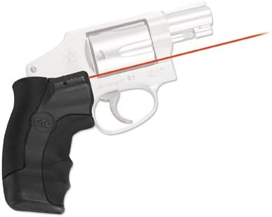 Crimson Trace LG-350 Lasergrips Laser Sight for Smith Wesson J-Frame