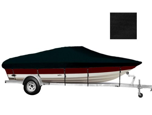 - 6.25oz Material Styled to FIT Boat Cover for Angled Transom Bass Boat Trailerable Cover 15'5