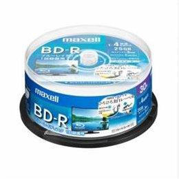 【まとめ 10セット】 maxell BRV25WPE30SP 録画用BD-R ひろびろ美白レーベルディスク 1-4倍 25GB 30枚 スピンドルケース B07KNT7YJV
