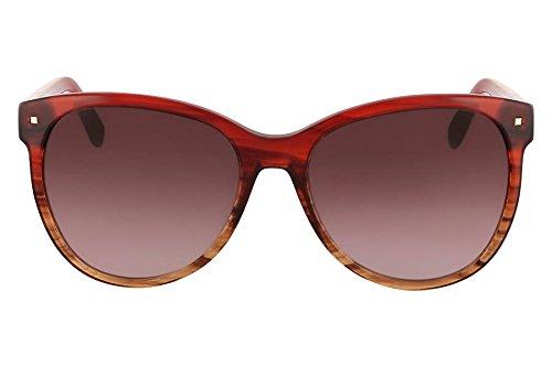 Óculos De Sol Nine West Nw563S 645/58 Vermelho