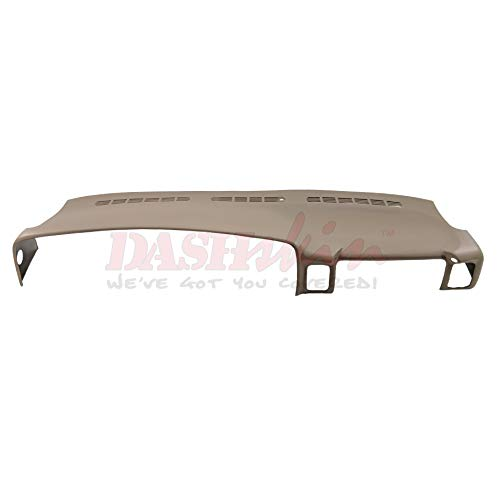 - DashSkin Molded Dash Cover Compatible with 00-06 GM SUVs (exc Escalade) and 99-06 Pickups in Medium Neutral Tan