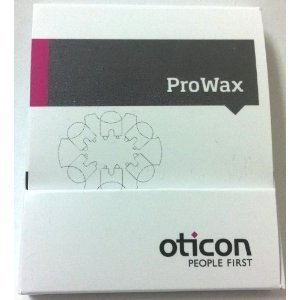 (, 3 paquetes) Genuine Oticon Pro Wax Filters by Ot