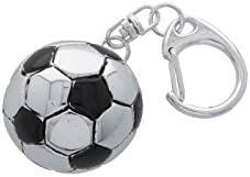 Llavero balón fútbol de plata – Paterna y Livi: Amazon.es: Hogar