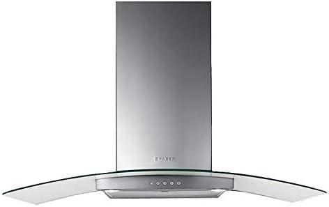 Faber Ray - Campana extractora de pared (acero inoxidable y cristal, 90 cm): Amazon.es: Grandes electrodomésticos