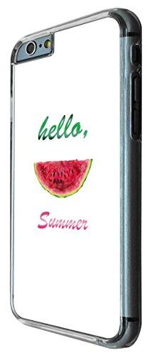 607 - Watermelon Slice Hello Summer Design iphone 6 PLUS / iphone 6 PLUS S 5.5'' Coque Fashion Trend Case Coque Protection Cover plastique et métal