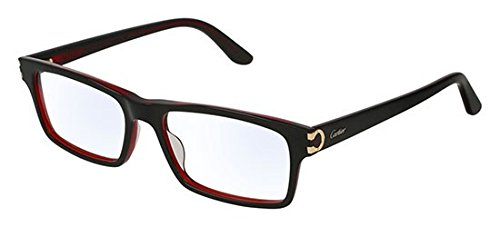 9db181b026 Cartier CT0005O BLACK men Eyewear Frames  Amazon.co.uk  Clothing