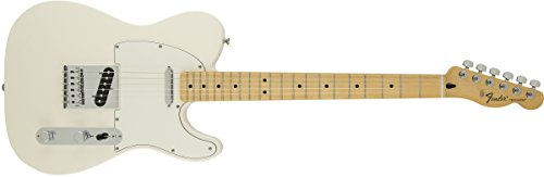 Price comparison product image Fender Standard Telecaster Electric Guitar - Maple Fingerboard,  Arctic White