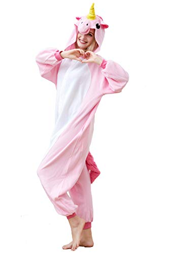 Unisex Animal Costumes New Halloween Anime Onesies Kids Cosplay Sleeping Wear Pajamas (S for Height 59