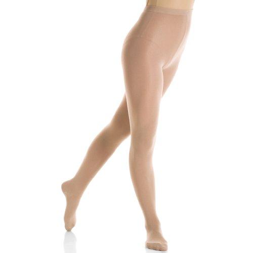 Mondor 3345 Footed Figure Skating Tights (Girls)