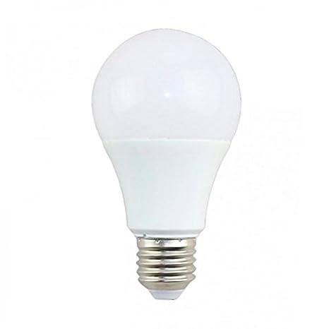 Bombilla LED E27 A60 11W Regulable, 4500, Por Unidad Color Translucido Iluminacion de Techo
