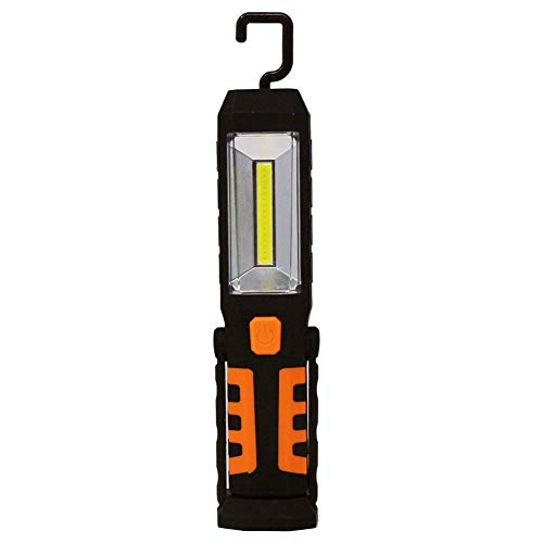 AIDI COB LED Working Light Rechargeable Hand-Free Flashlight with Magnetic Base