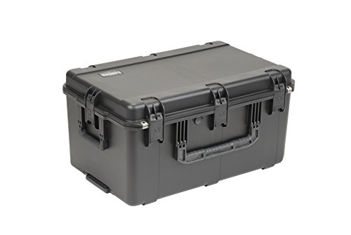 SKB Large Waterproof Pro Audio Case 29 x 18x 14 inches, with Wheels and Cubed Foam