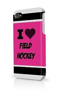 Field Hockey Pink iPhone 5/5S Case - For iPhone 5/5S - Designer PC Case wangjiang maoyi