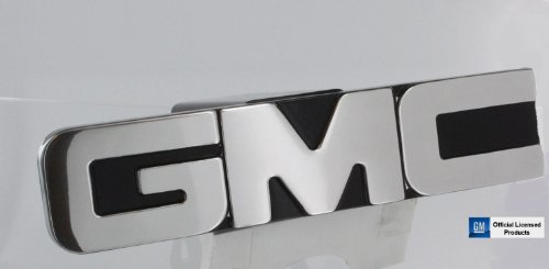 """GMC Polished Billet Aluminum Tow Hitch Cover - 2""""- By AMI"""