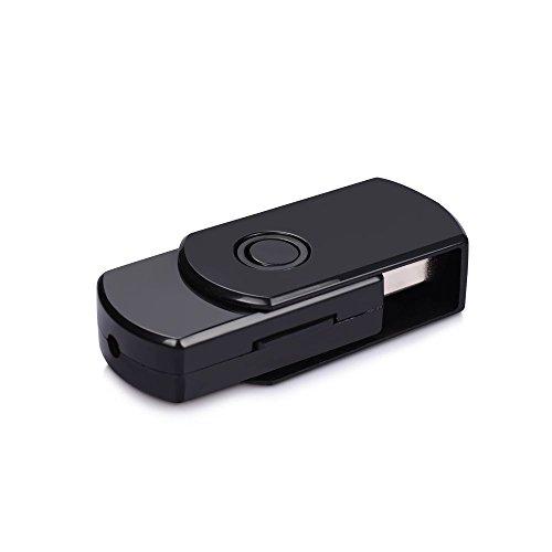Mini U-Disk Spy Camera Portable USB Flash Driver Hidden Nanny Cam Loop Video Recorder Card (Spy Portable Dvr)