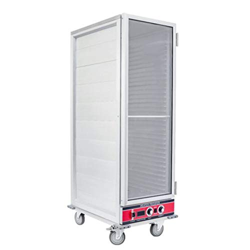 - Empura Full Height Heated Proofer and Holding Cabinet with Clear Polycarbonate Door - Fully Insulated (E-HPIC-6836)