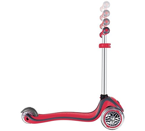Globber 3 Wheel Adjustable Height Scooter (Red) by Globber (Image #2)