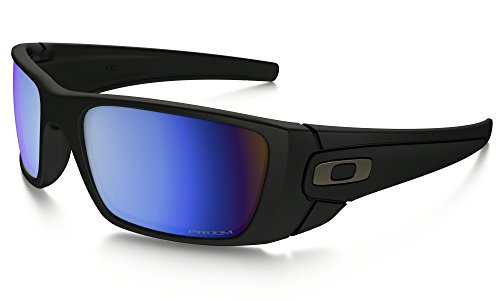 Oakley Fuel Cell Sunglasses Matte BLK / Prizm Deep Blue Pol. & Care Kit - Cell Sunglasses Fuel Oakley Polarized