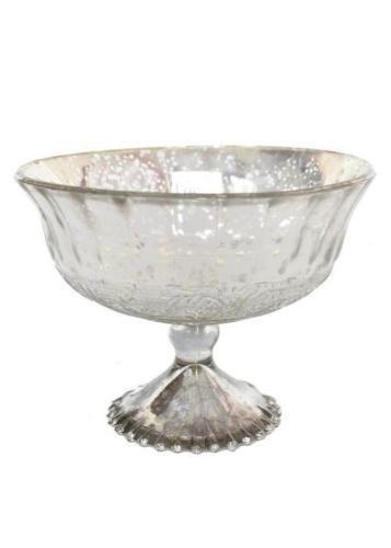 mercury glass pedestal - 9