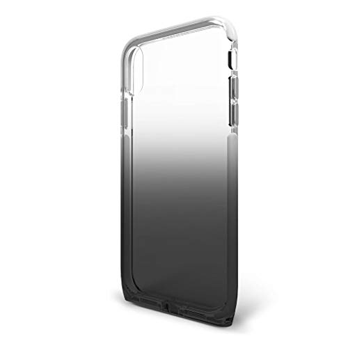 BodyGuardz - Harmony Case Compatible w/Apple iPhone Xs Max (Clear/Black), Extreme Impact and Scratch Protection - iPhone Xs Max (Shade)