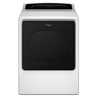 Whirlpool Cabrio WED8000DW 8.8 cu. ft. High-Efficiency Electric Dryer with Quad Baffles Advanced Moisture Sensing Intuitive Touch Controls with Memory EcoBoost and Wrinkle Shield Plus Option in