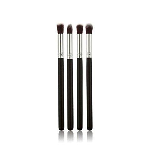 Sannysis 4Pcs Makeup Cosmetic Tool Eyeshadow Powder Foundation Blending Brush Set (Eyeshadow Blending Brush Set compare prices)