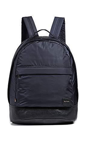 Paul Smith Men's Nylon Backpack, Navy, Blue, One Size