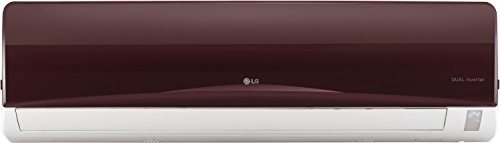 LG 1.5 Ton 3 Star Inverter Split AC (Copper, JS-Q18RUXA, Nova Red)