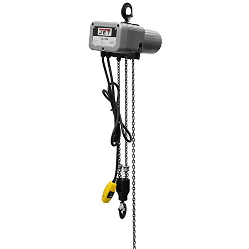 JET Tools Jet Systems JSH-550-10, 1/4 Ton 10' Lift Electric Hoist, 115V (110110)