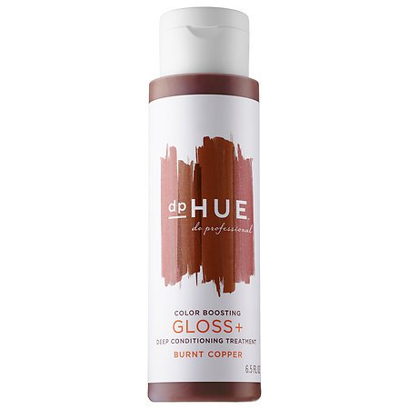Conditioning Gloss Color (Color Boosting Gloss + Deep Conditioning Treatment Dark Burnt Coppper 6.5 oz)