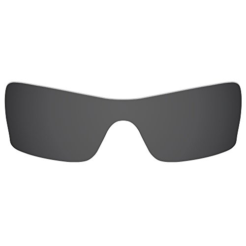 Dynamix Polarized Replacement Lenses for Oakley Batwolf - Multiple Options (Solid Black, Polarized - Lenses Replacement Batwolf