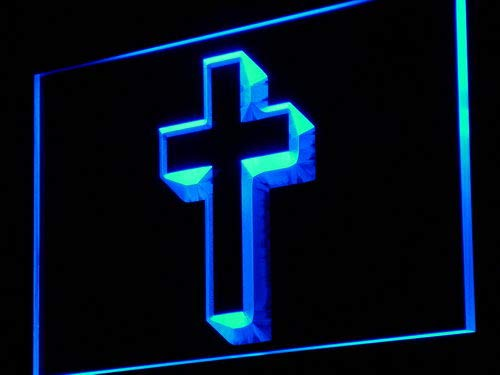 ADVPRO Cross Disply Home Decor LED Sign Neon Light Sign Display i895-b(c)