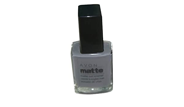 Amazon.com: Matte Nail Enamel Grey Cement By Avon: Health & Personal ...