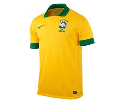 Brasil Home Jersey - 2013-14 Brazil Home Nike Football Shirt