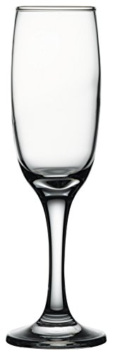 - Hospitality Glass Brands 44704-024 Imperial Flute (Pack of 24), 7 oz.