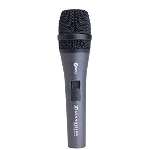 - Sennheiser E 845-S Dynamic Super Cardioid Microphone