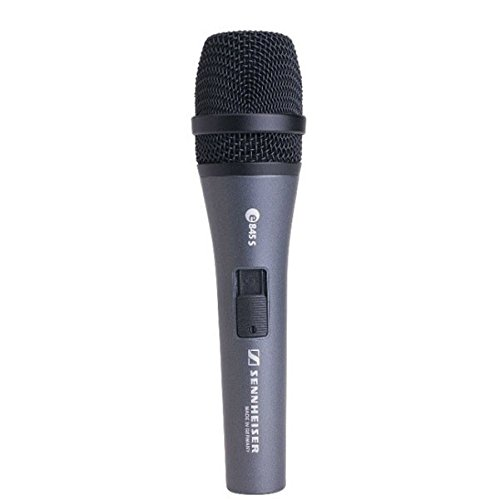 Sennheiser Supercardioid Dynamic Mic - Sennheiser E 845-S Dynamic Super Cardioid Microphone