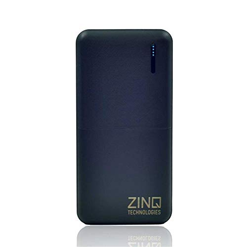 Zinq Technologies Z20KP 20000mAH Lithium Polymer Power Bank (Qualcomm Certified) with QC 3.0 + Type...