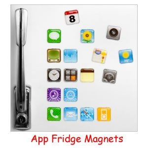 App Imanes de nevera a su vez tu frigorífico en un iphone: Amazon ...