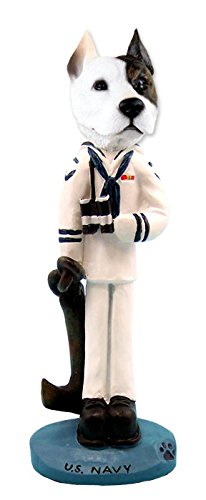 (Pit Bull Terrier U.S. Navy Doogie Collectable Figurine)