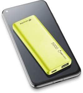cellularline FreePower Slim 5000 batería Externa Verde Polímero de Litio 5000 mAh: Amazon.es: Electrónica