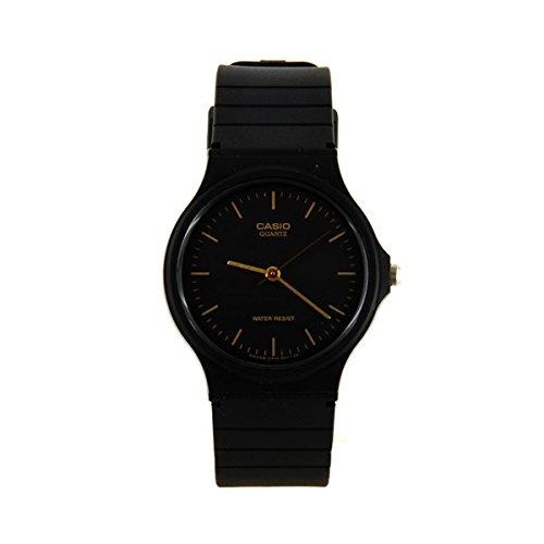 Casio - Reloj Pulsera plástico negro Type de anuncios: Agujas - Color: Negro - contenido: 1 reloj: Amazon.es: Relojes